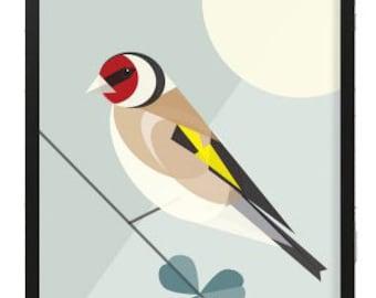 Goldfinch bird print