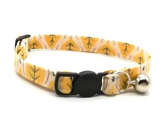 Yellow leaf collar breakaway safety collar