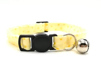 Yellow spotty breakaway safety collar