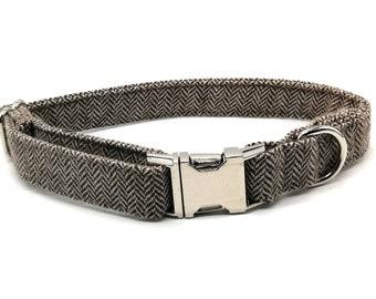 Tweed Dog Collars & Bows