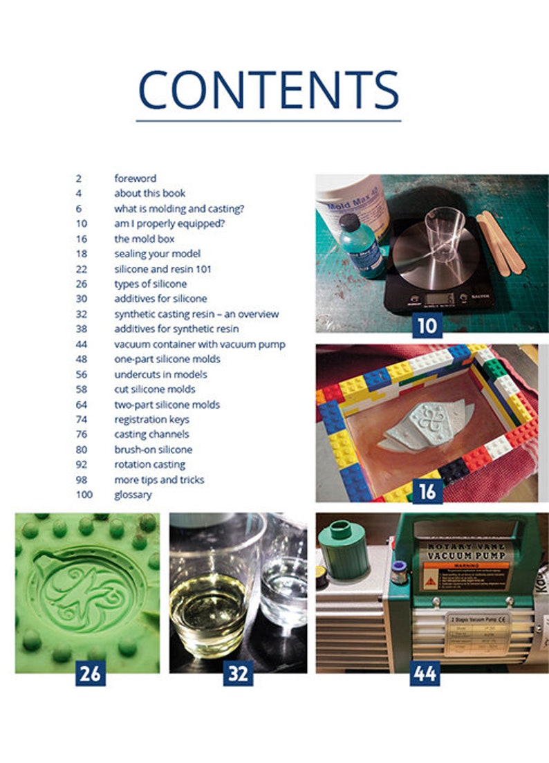 Cast like Magic – A beginner's Guide to mold making and resin casting  (ebook/PDF)