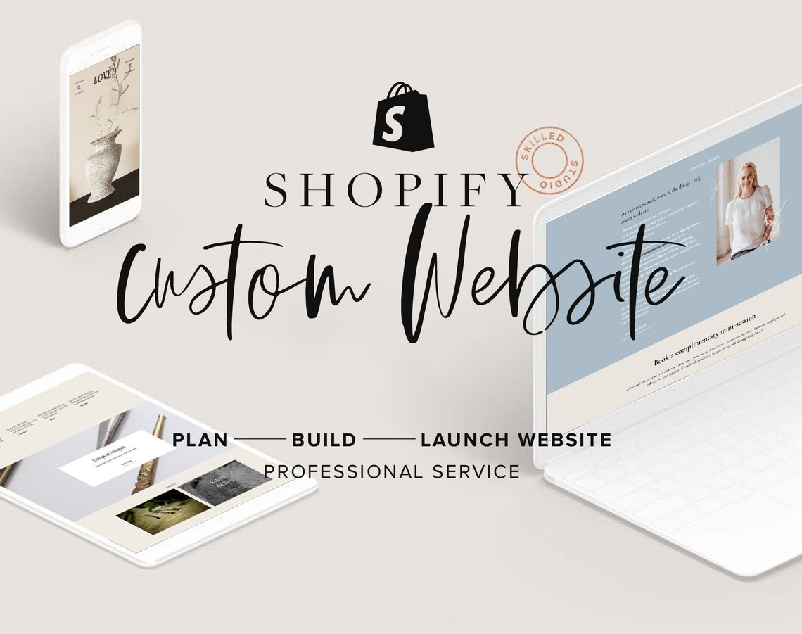 Custom Shopify E-commerce Website Design Shopify Theme image 0