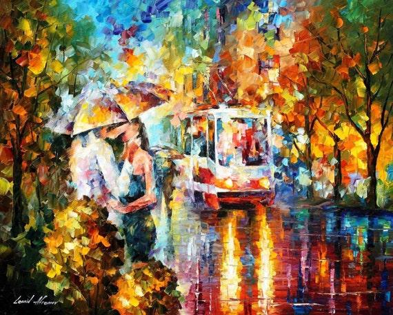 leonid afremov paintings couple