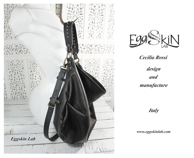 c3a28f984e Borsa in pelle sacca morbida in pelle borsa in cuoio borsa | Etsy