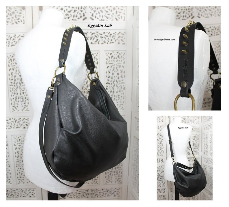 CARAXES big size is a soft and voluminous purse. The Italian image 0