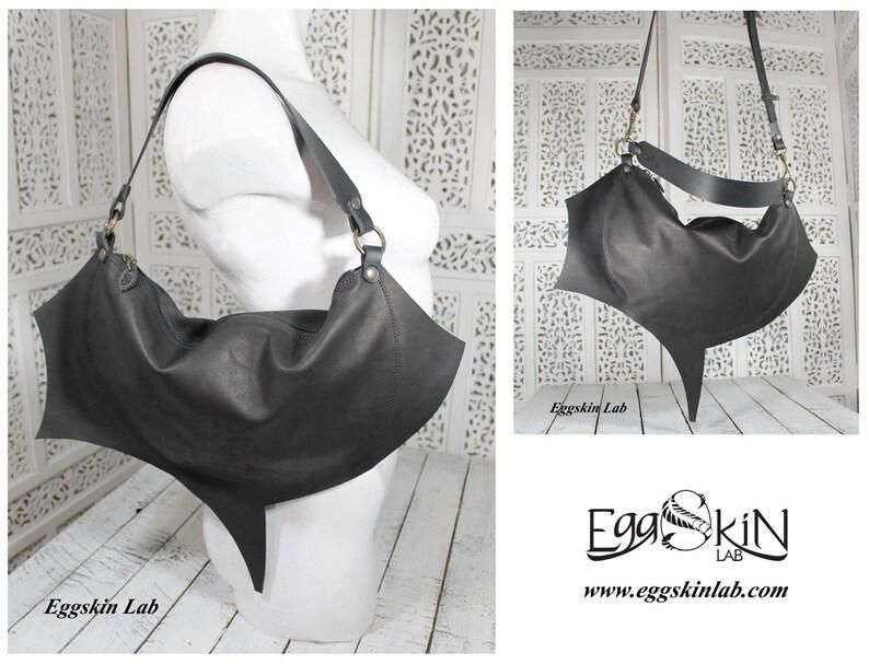 Mini purse purse leather purse italian leather purse goth image 0