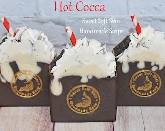 Hot Cocoa Soap Bars