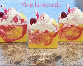 Pink Lemonade Soap Bars