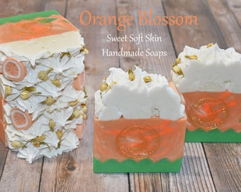 Orange Blossom Soap Bars