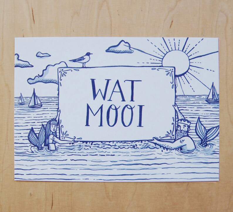 Wat MOOI Maritime Postcard image 0