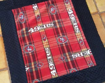 San francisco 49ers baby blanket ready to ship!