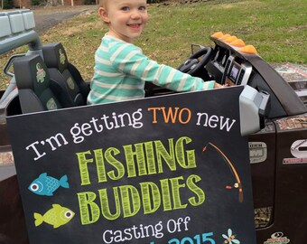 Fishing Pregnancy Announcement Fishing Pregnancy Reveal Fishing Theme Big Brother Big Sister