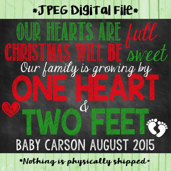 Christmas Pregnancy Announcement Christmas Pregnancy Christmas