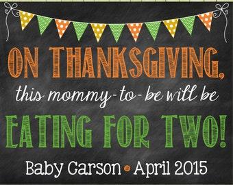 Thanksgiving Pregnancy Reveal // Thanksgiving Pregnancy Announcement // Pregnancy Reveal // Pregnancy Announcement // Thanksgiving
