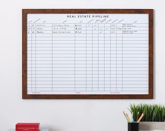 7fd25cd8f0ad Dry erase board for Real Estate Agents - combined buyer and seller  whiteboard