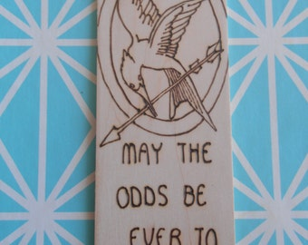 Hunger Games inspired bookmark