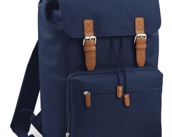 BLACK FRIDAY DEAL - Vintage Style Laptop Backpack Bag