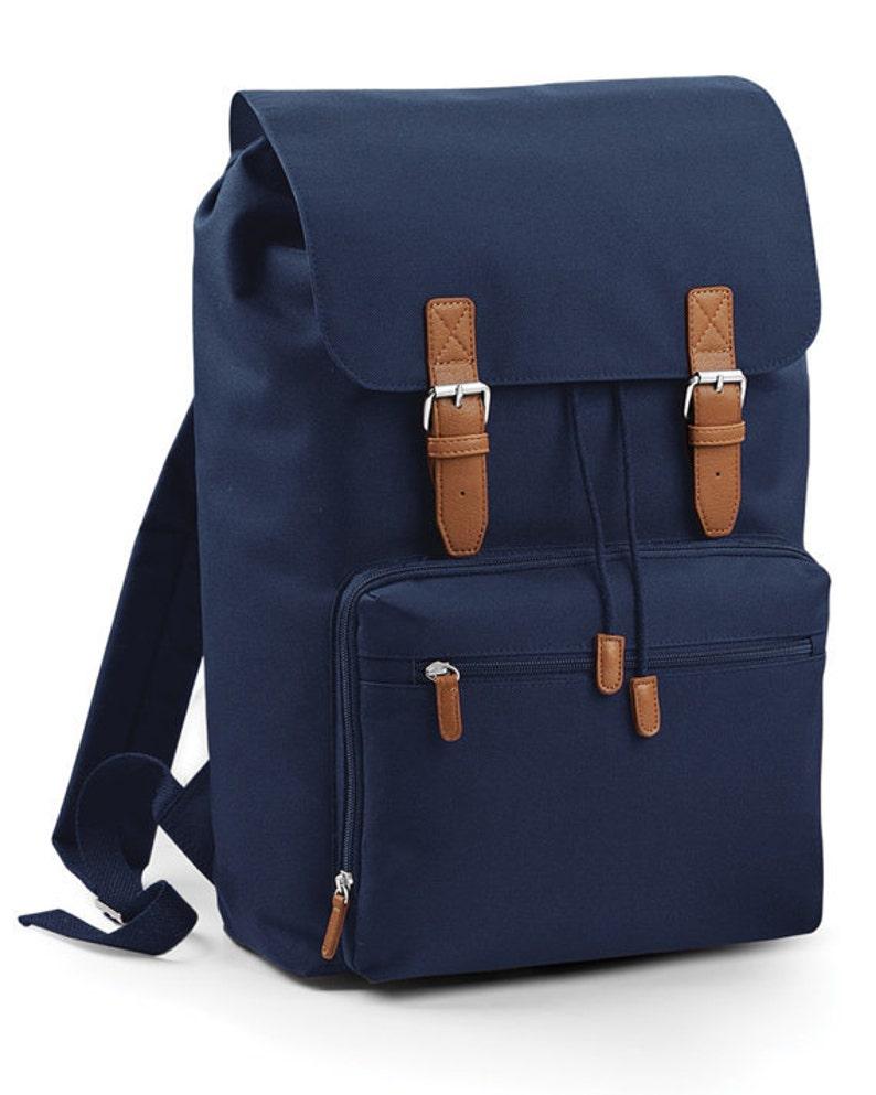 BLACK FRIDAY DEAL  Vintage Style Laptop Backpack Bag image 1