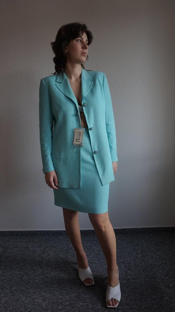 90s Versace Skirt Suit - Vintage Versace - Versace