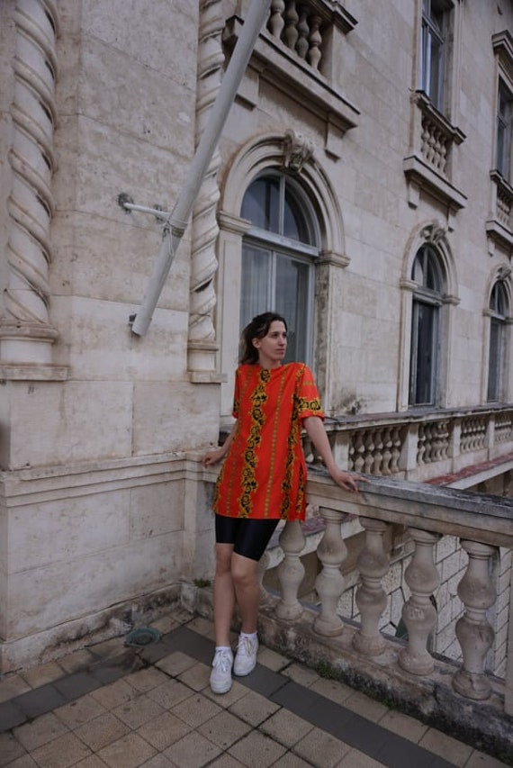 Vintage Blouse sewn of Versace fabric - Versace S… - image 4