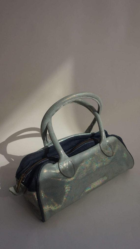 Y2k Just Cavalli Holographic Shoulder Bag - Vintag
