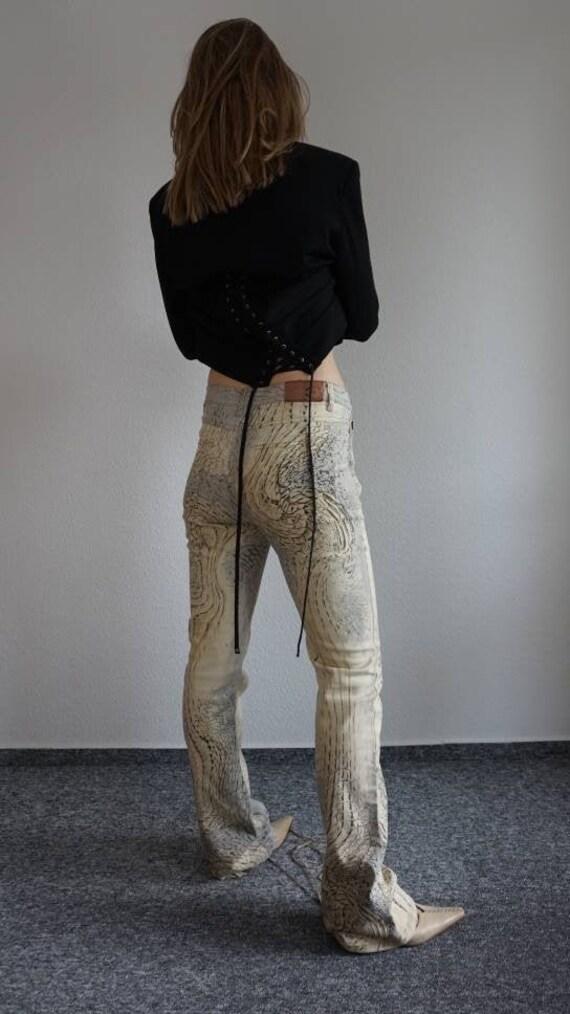 Y2k Just Cavalli Flares - Roberto Cavalli Pants -