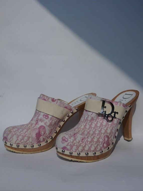 2004 Christian Dior by Galliano Mules - Y2k Dior M