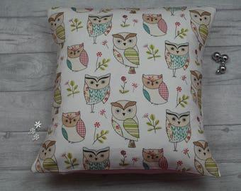 Owl Cushion , Owl Pillow , Owl