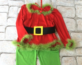 The Grinch Costume Toddler Halloween Costume Dress Up Christmas Outfit Boy Shirt and Pants Halloween Shirt For Kids Gift For Boy & Grinch costume | Etsy