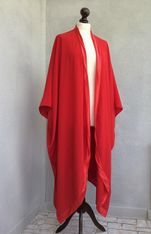 Women Loose Top Long Kimono Cardigan Beach Coverup Unique Clothing Gift Oversize Summer Caftan Swimsuit Coverup Boho Maxi Kimono