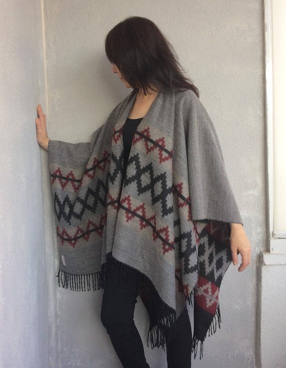 Shawl Blanket Aztec Poncho Clothing Gypsy Hippie Men Apparel Oversize Poncho Men Tribal Mexican Outwear Gift Women Fall Wrap Poncho 5XFqRwxw