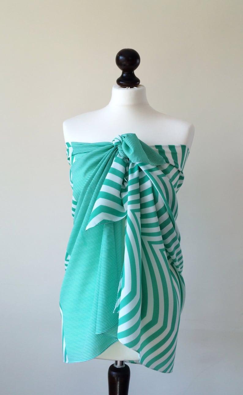 74ad9f1553751 Swimwear Wrap Pareo Beach Cover Up Summer Scarf Chiffon | Etsy
