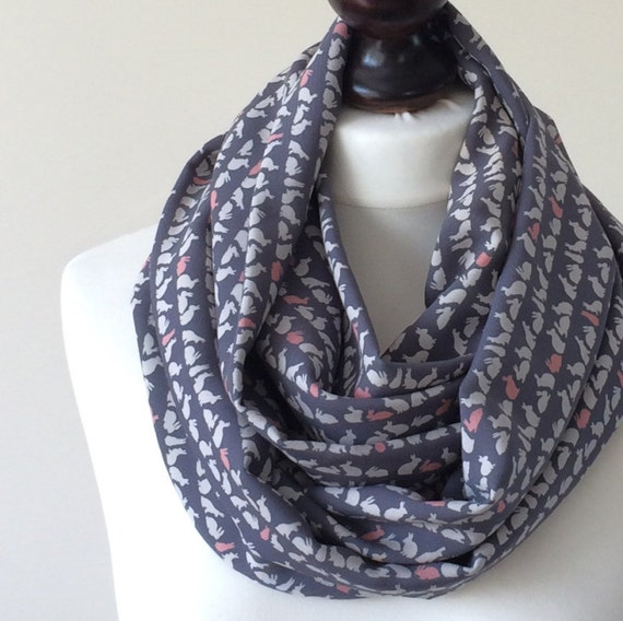 US SELLER long shawl loop  boho Aztec circle loop infinity scarf