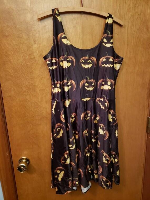 Living Dead Halloween pocket dress XL