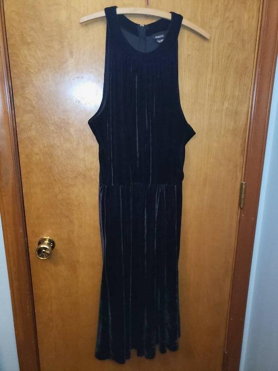 Retrolicious black dress xl with pockets