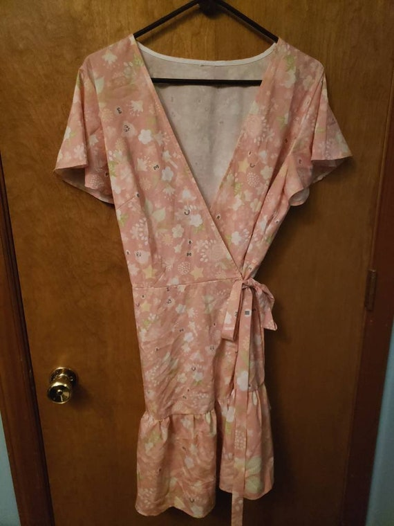 Kirby wrap dress