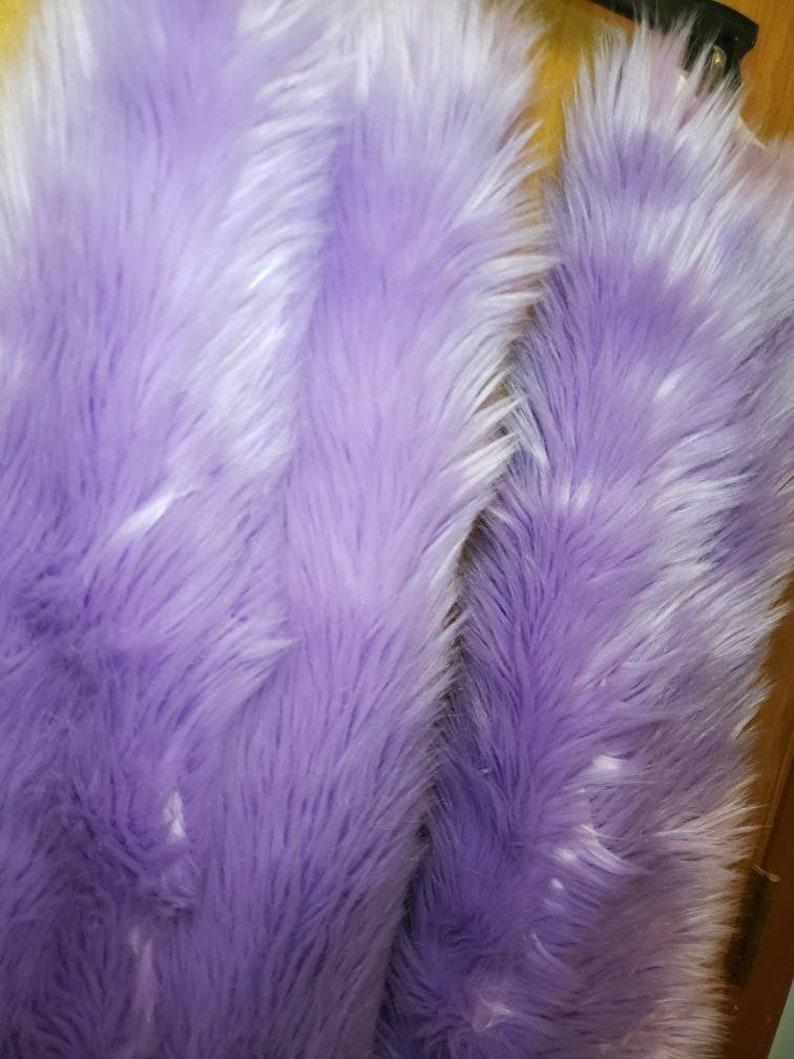 Lavender thigh high fluffies