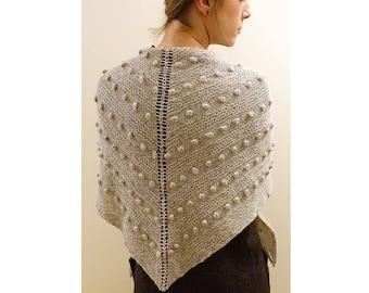 Blobble Bliss Shawl Knitting Pattern