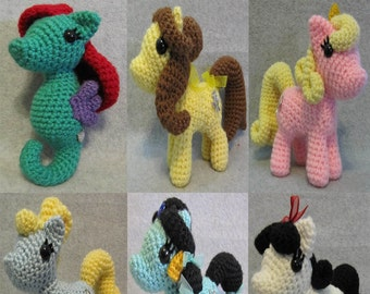 50% OFF~ Chibi Princess Pony Pattern Package