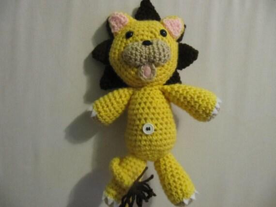 Crochet Lion Amigurumi Pattern - Free - Ami Amour   427x570