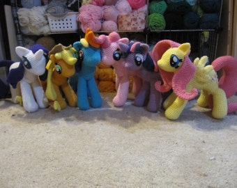 50% OFF~ My Little Pony Crochet Patterns