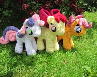 50% OFF~ Cutie Mark Crusaders Pattern - My Little Pony