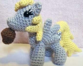 Chibi Derpy Hooves Pattern - My Little Pony