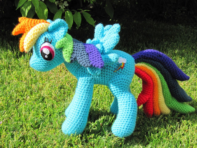 Rainbow Dash Pattern My Little Pony   Etsy