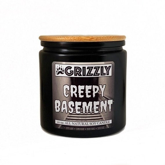 Creepy Basement 11 Oz Scented Soy, Musty Basement Candle