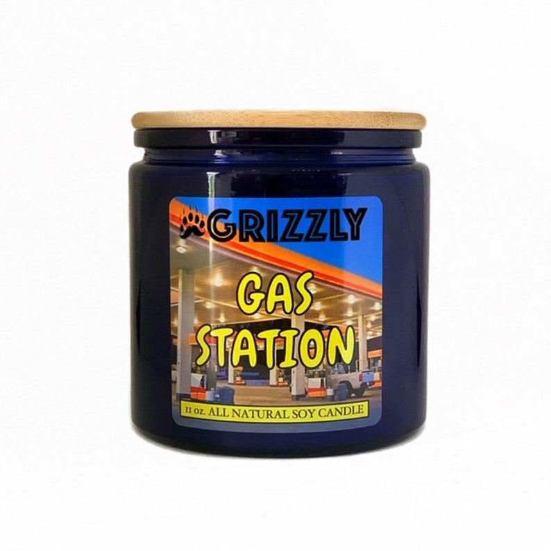 Scented Soy Candle 11 oz GAS STATION