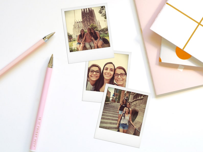 Custom Polaroid Prints Mom and Daughter Custom Pictures Personalized pictures Moms Gift Ideas Mother/'s Day Custom Polaroid Prints