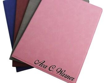 Personalized Leather Padfolio, Personalized Notepad, Business Gifts, Graduation Gifts, Custom Portfolio, Leather Portfolio Folder