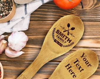 Mother Gift for Mom Kitchen Mother Gift Mom Gift Ideas Kitchen Gift Cooking Spoon Personalized Mom Gift From Son Daughter & Kitchen gift | Etsy