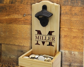 Wall Mount Bottle Opener Etsy